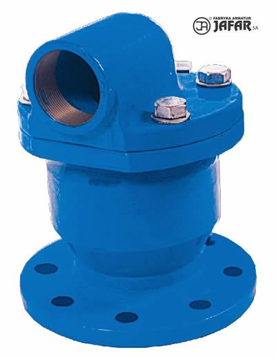 Légbeszívó- és légtelenítőszelep vízre 7010 tip.